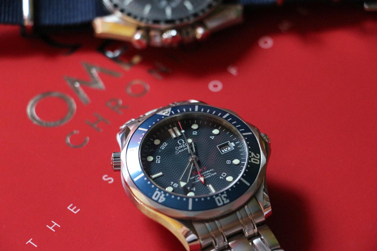 đồng hồ Omega quartz Diver 300m dành riêng cho nữ 4