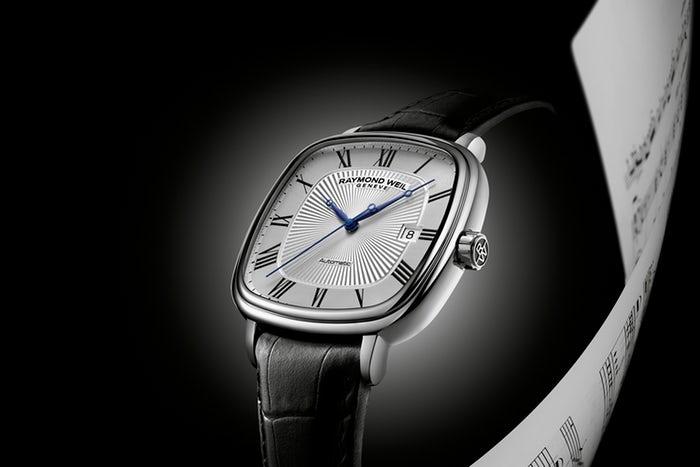 đồng hồ Raymond Weil mặt vuông Maestro