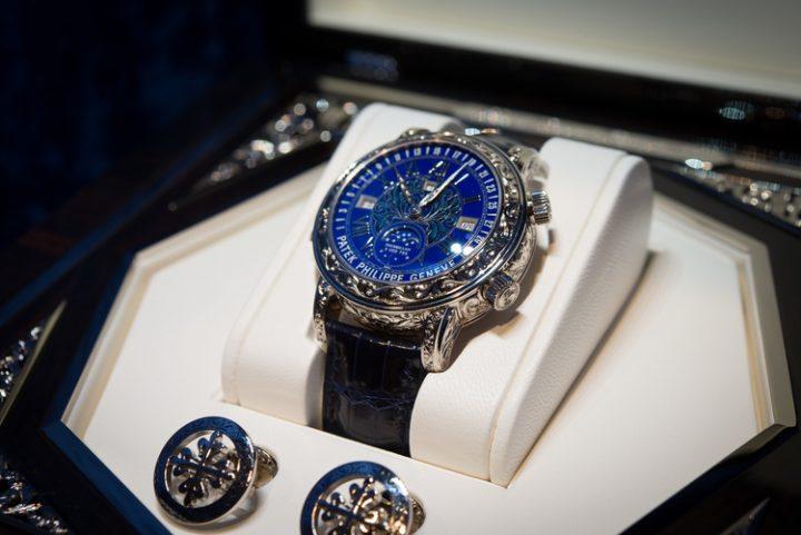 chiếc đồng hồ Patek Philippe Sky Moon