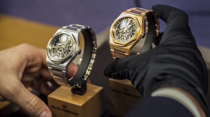 Đồng hồ Girard Perregaux Laureato phiên bản 2017