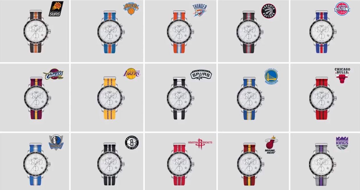 Đồng hồ Tissot thể thao NBA