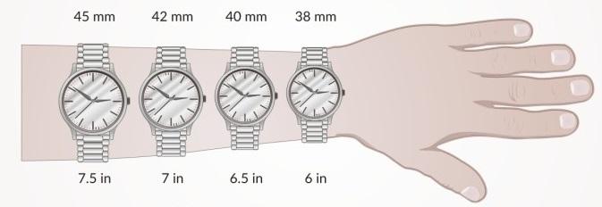 đồng hồ nam size nhỏ đẹp nhata