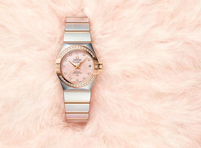 Đồng hồ Omega đôi Constellation nữ