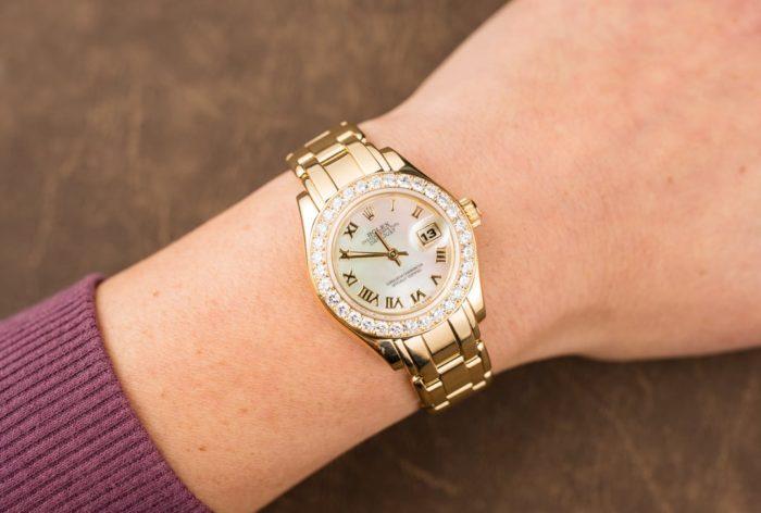 đồng hồ rolex đính kim cương đẹp