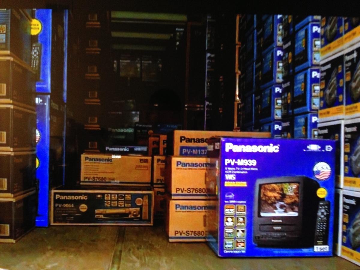 Hãng điện tử Panasonic trong phim