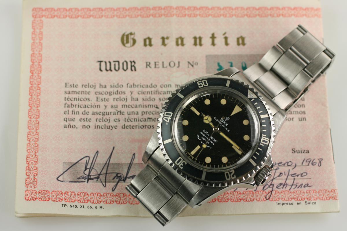 đồng hồ lặn nhà Tudor