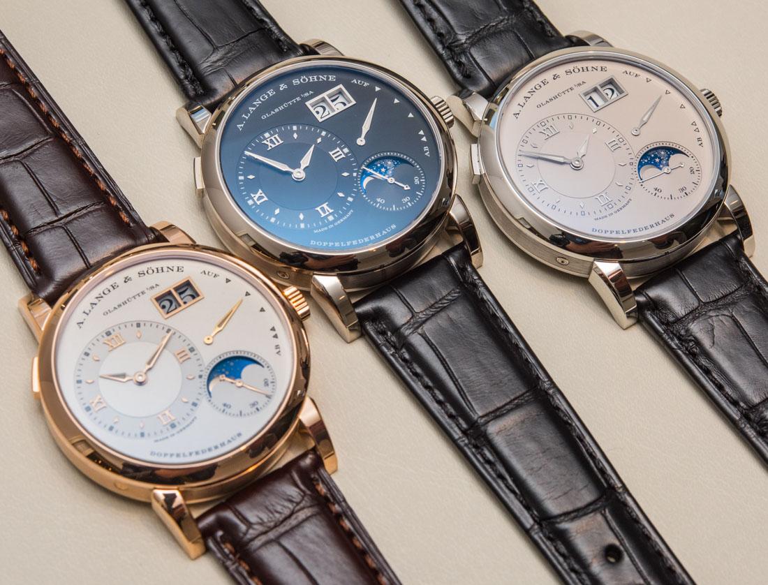 Bộ sưu tập đồng hồ Zeitwerk