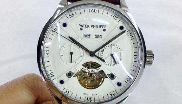 Đồng hồ cơ lộ máy Thụy Sĩ fake 1