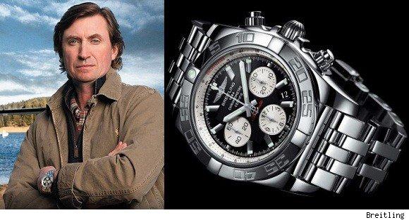 Đại diện thương hiệu của hãng đồng hồ Breitling