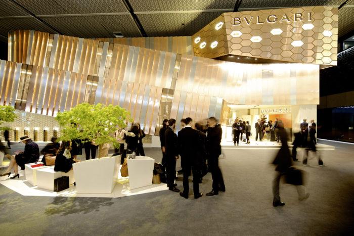 KHu vực thương hiệu tại Basel world