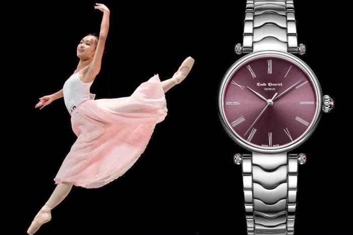 đồng hồ nữ emile chouriet