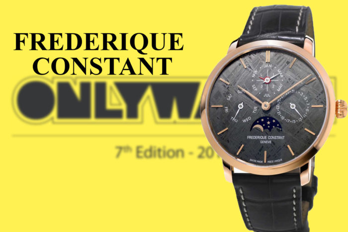 Frederique Constant ONly watch