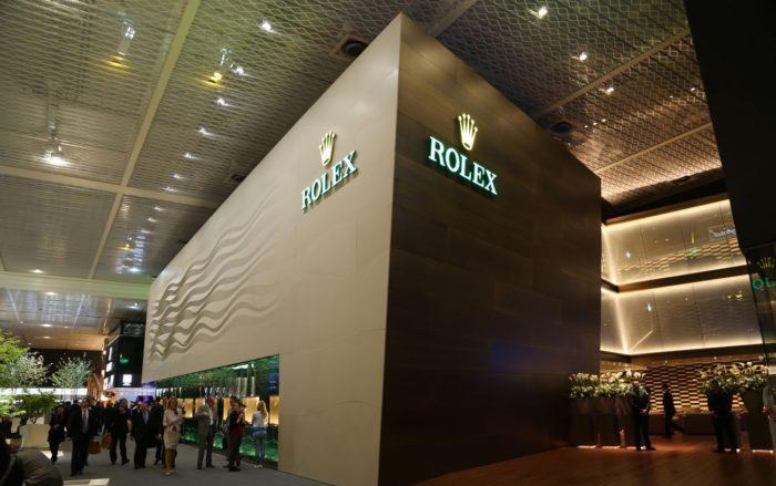 Gian hàng Rolex tại Basel World