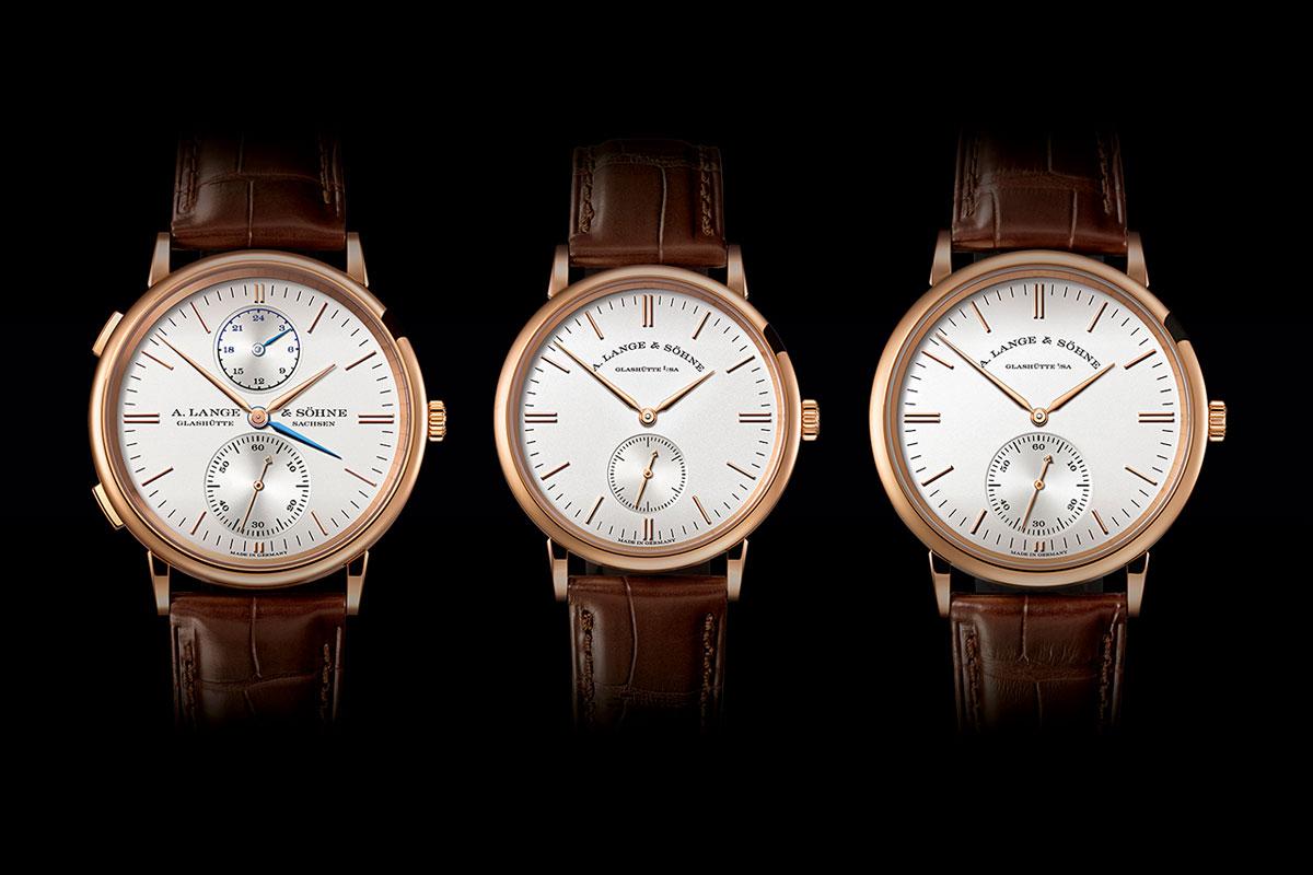 Bộ sưu tập đồng hồ Saxonia