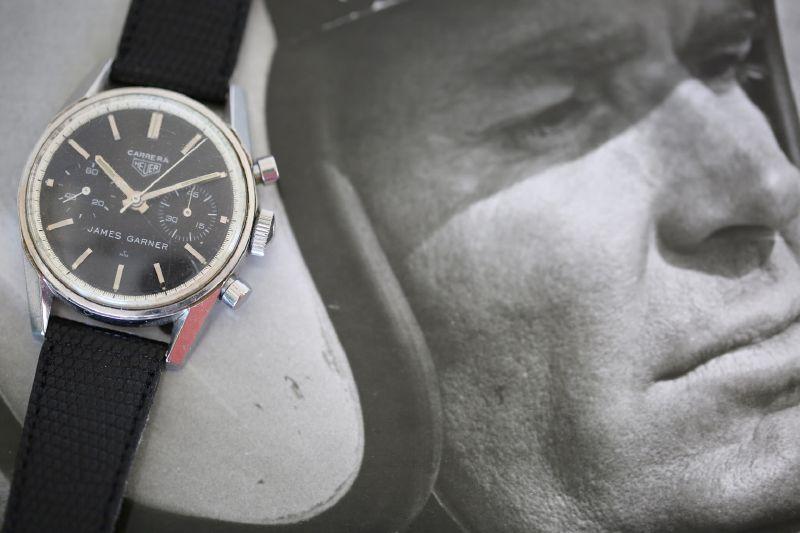 James Garner và đồng hồ hàng hiệu
