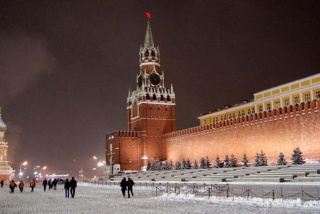 Tháp đồng hồ Nga