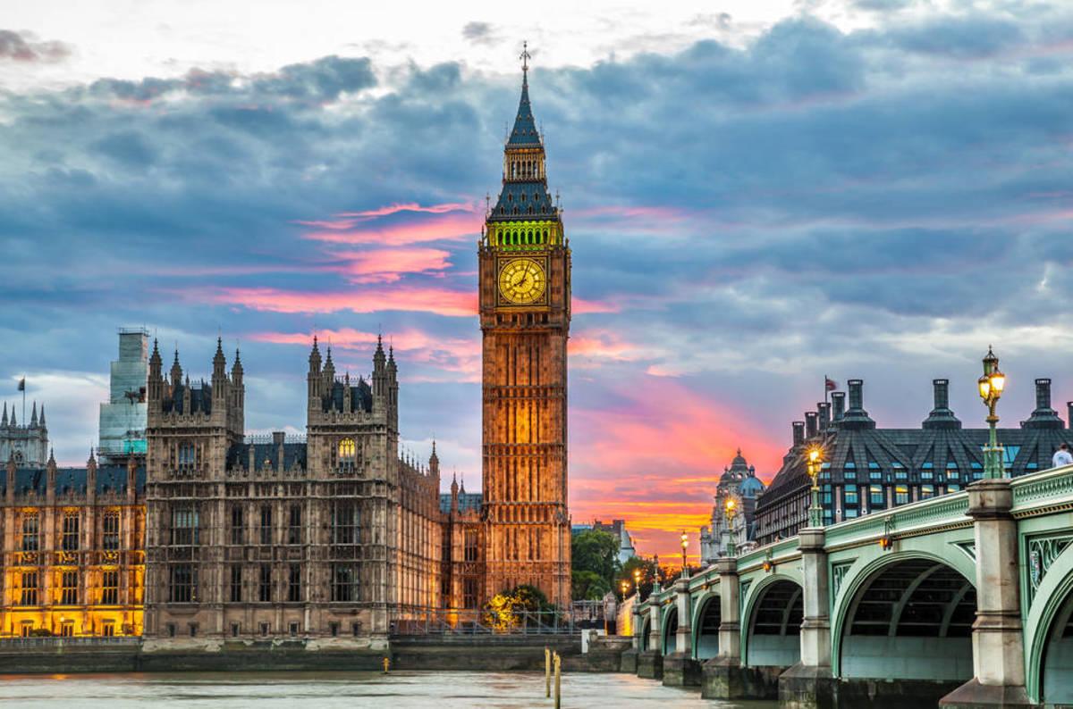 tháp đồng hồ London