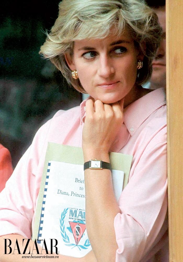 Công nương Diana tín đồ của đồng hồ