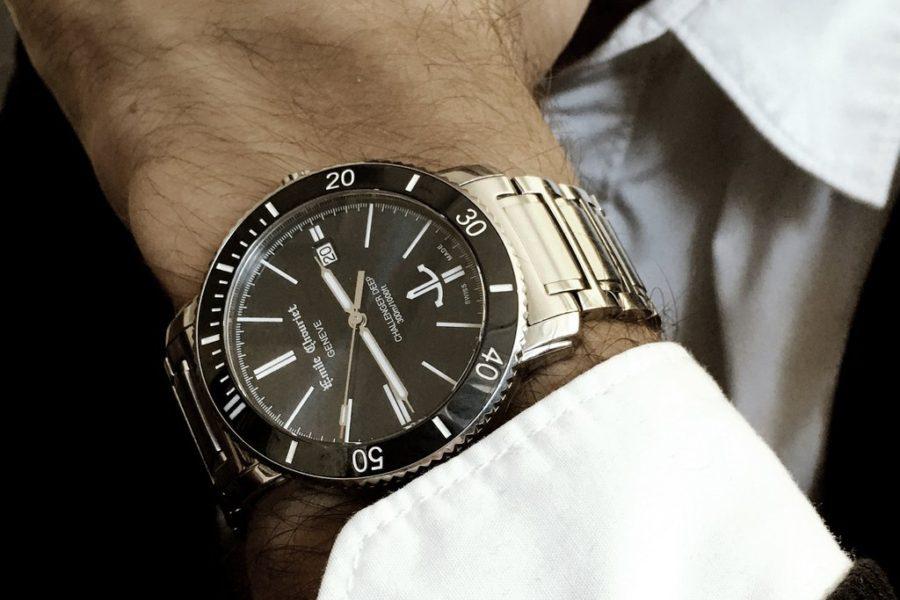 đồng hồ cơ nam emile chouriet