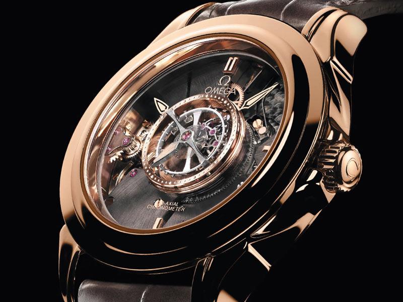 đồng hồ omega lộ máy