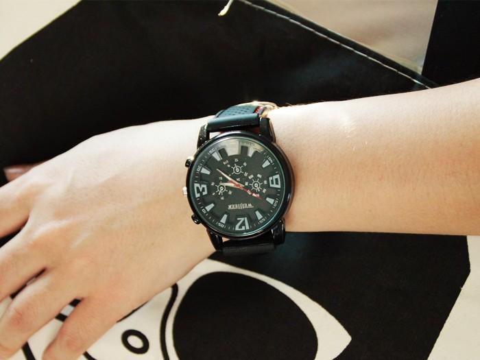 Đồng hồ 2 kim Hàn Quốc thời trang
