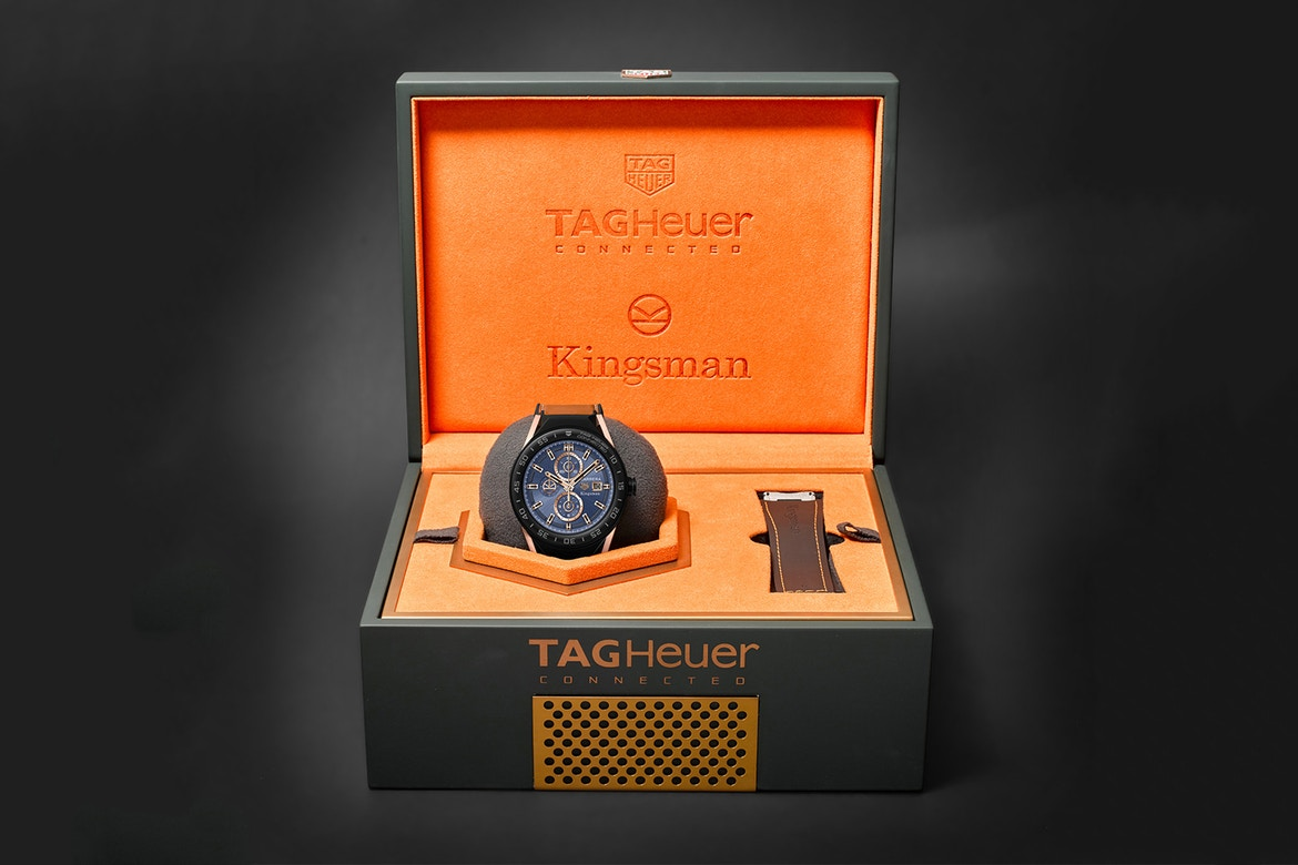 "TAG Heuer Connected Modular 45 ""Kingsman"" Special Edition"