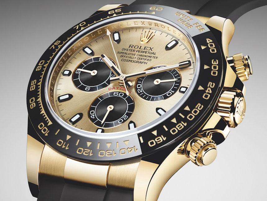 Đồng hồ cơ Rolex bằng vàng