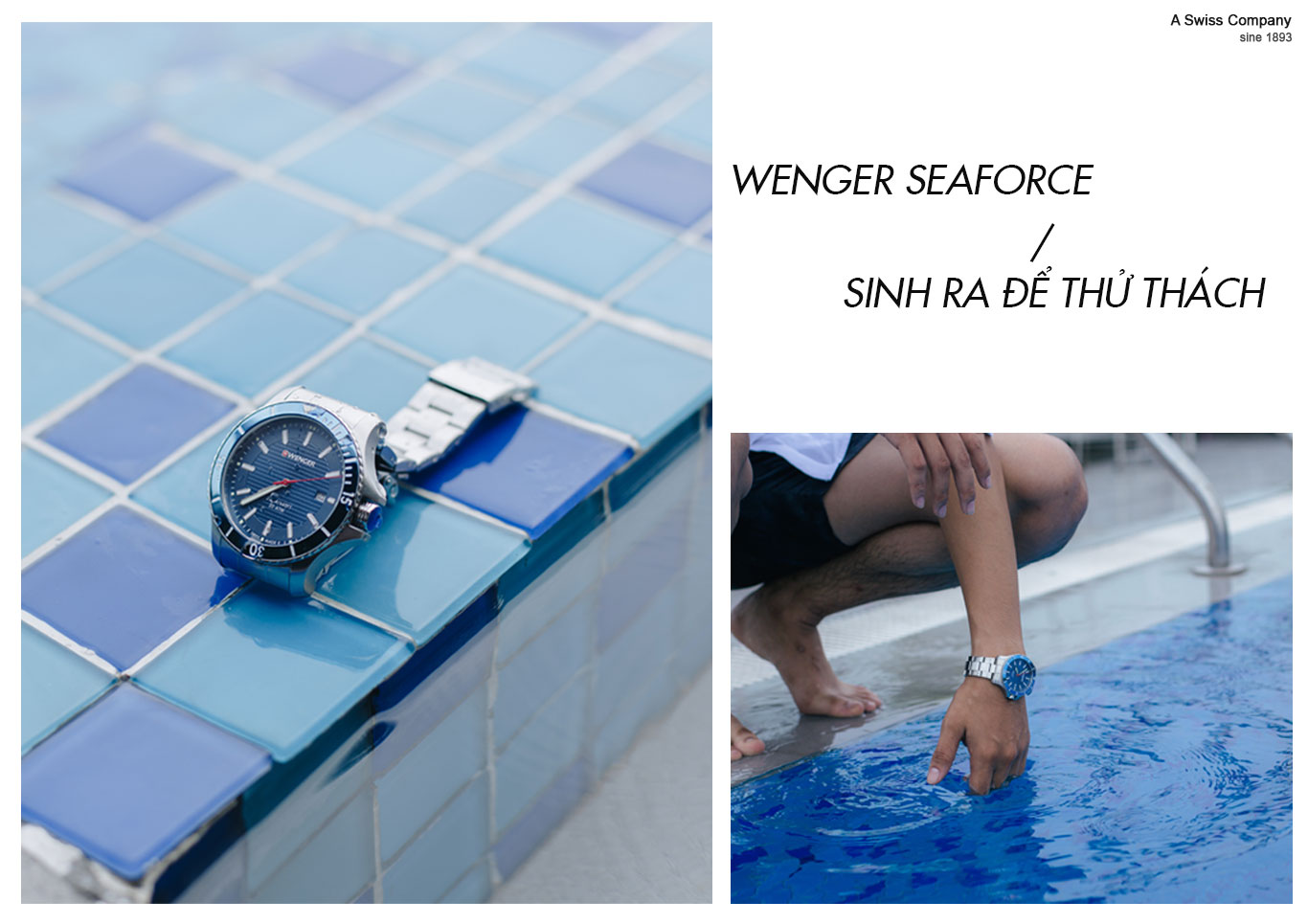 đồng hồ Wengerchống chống nước cực tốt