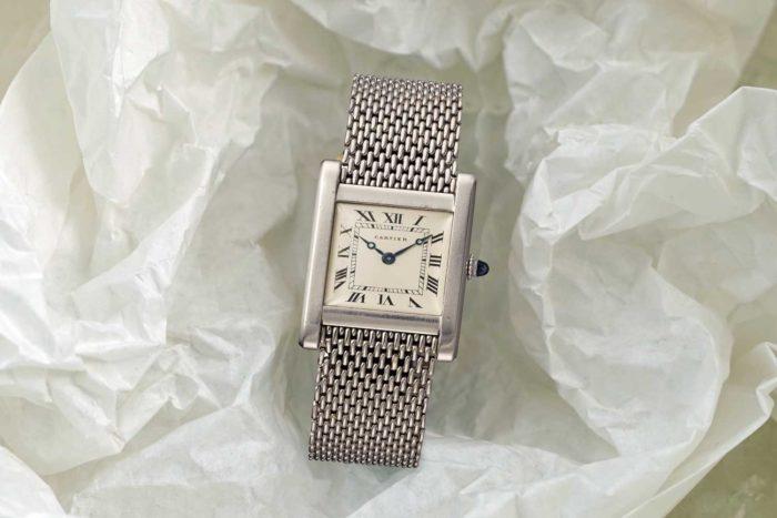 dây đồng hồ kim loại nữ