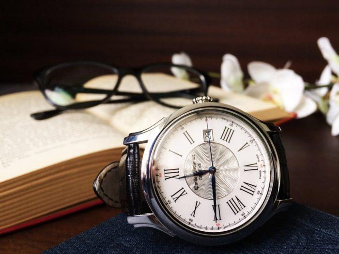 đồng hồ nam dây da Emile Chouriet