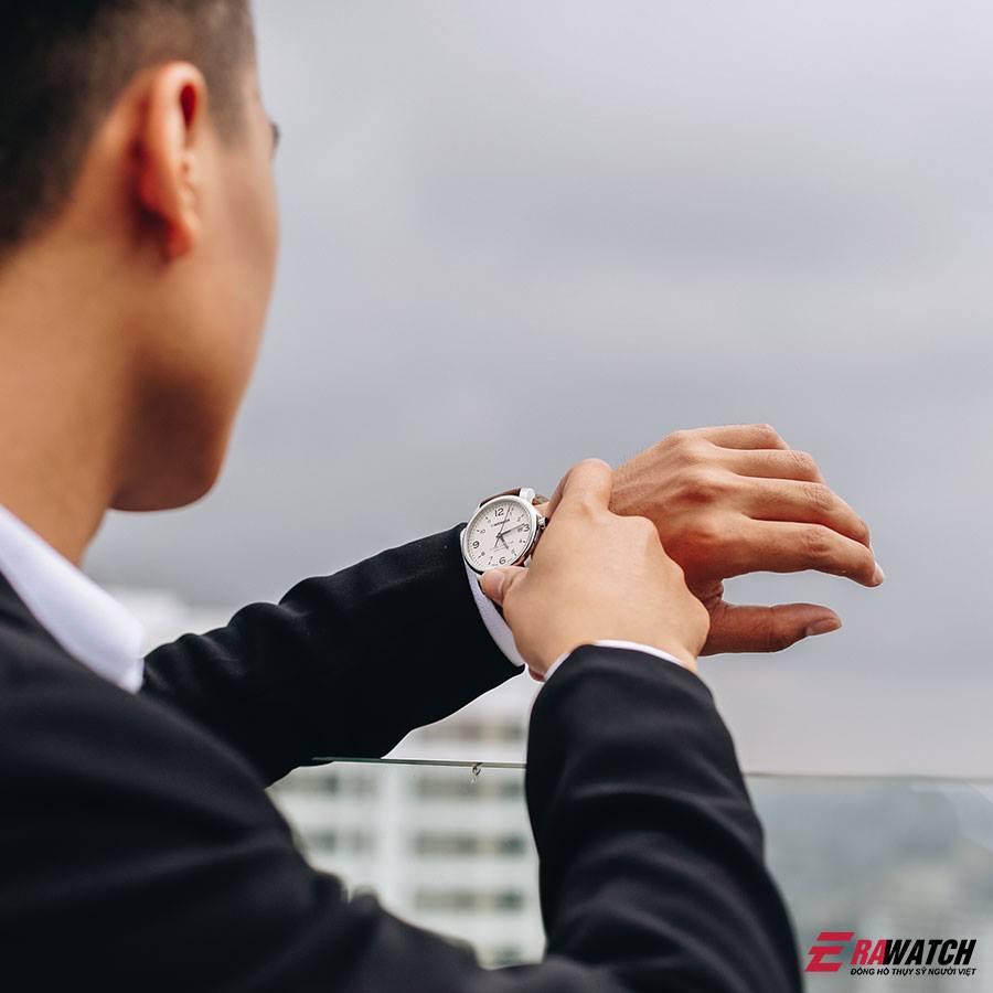 đồng hồ nam tay nhỏ Weger