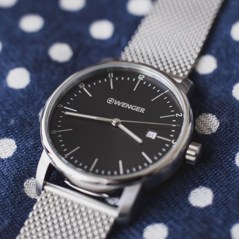 đồng hồ nam sapphire hiệu Wenger