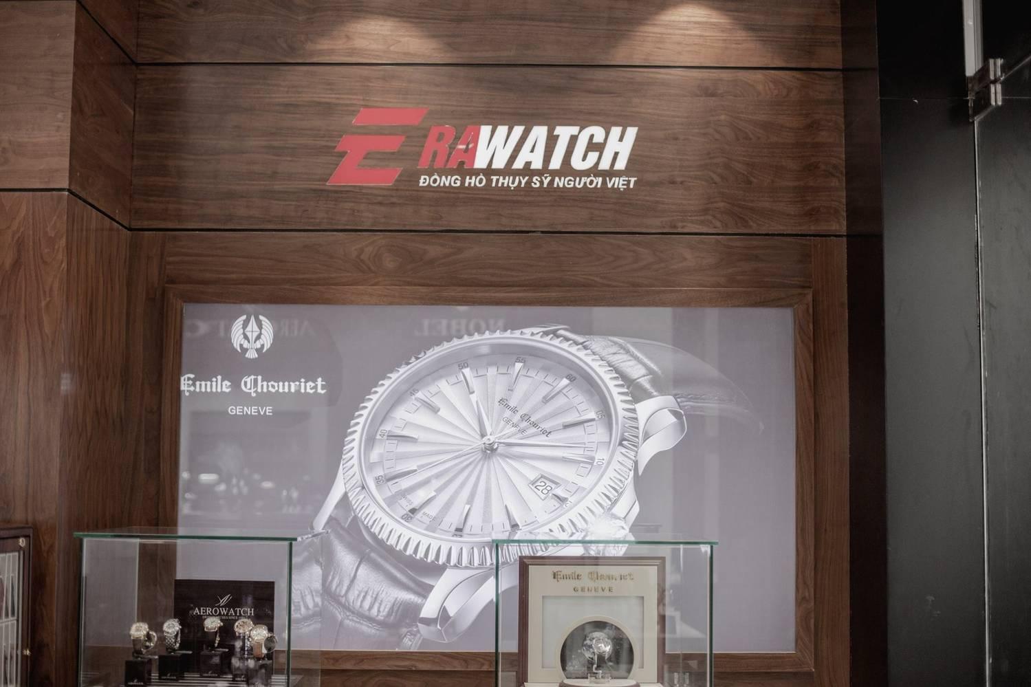 Cửa hàng phân phối đồng hồ Emile chouriet chính hãng Erawatch