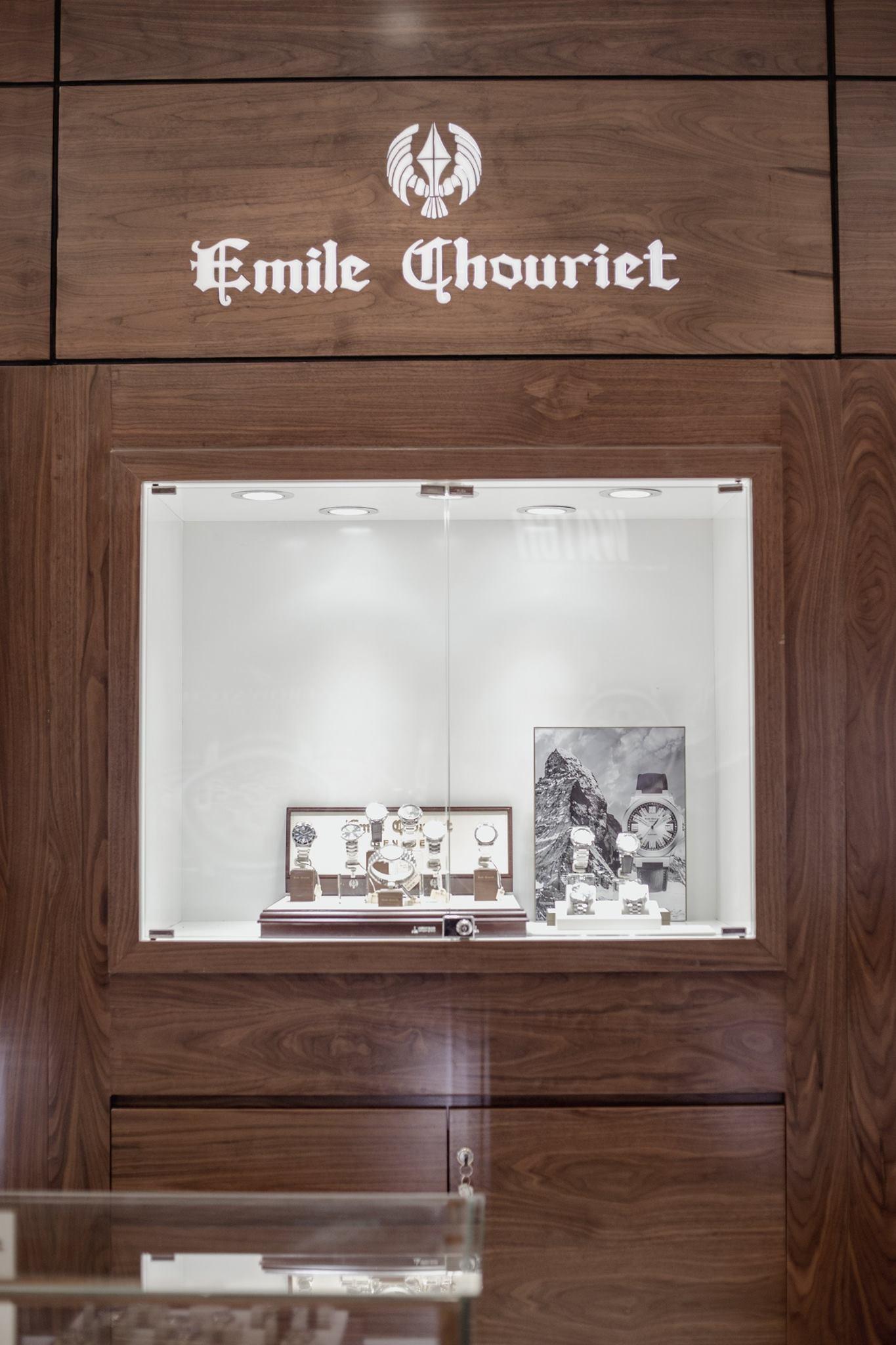 Shop đồng hồ Emile Chouriet tại 100 Thái Hà, Đống Đa Hà nội