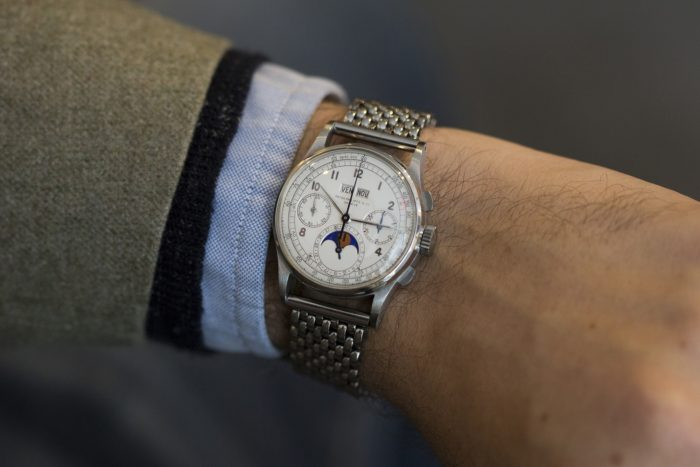 đồng hồ Patek Philippe 1518 lập kỷ lục 2016