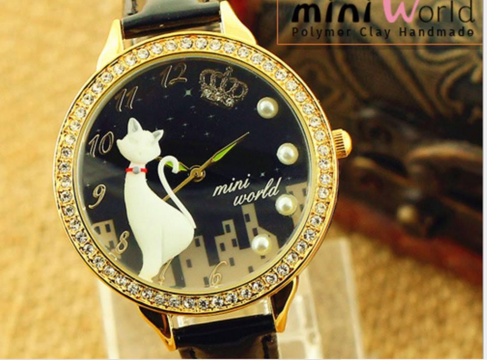Đồng hồ mini Hàn Quốc thời trang giá rẻ
