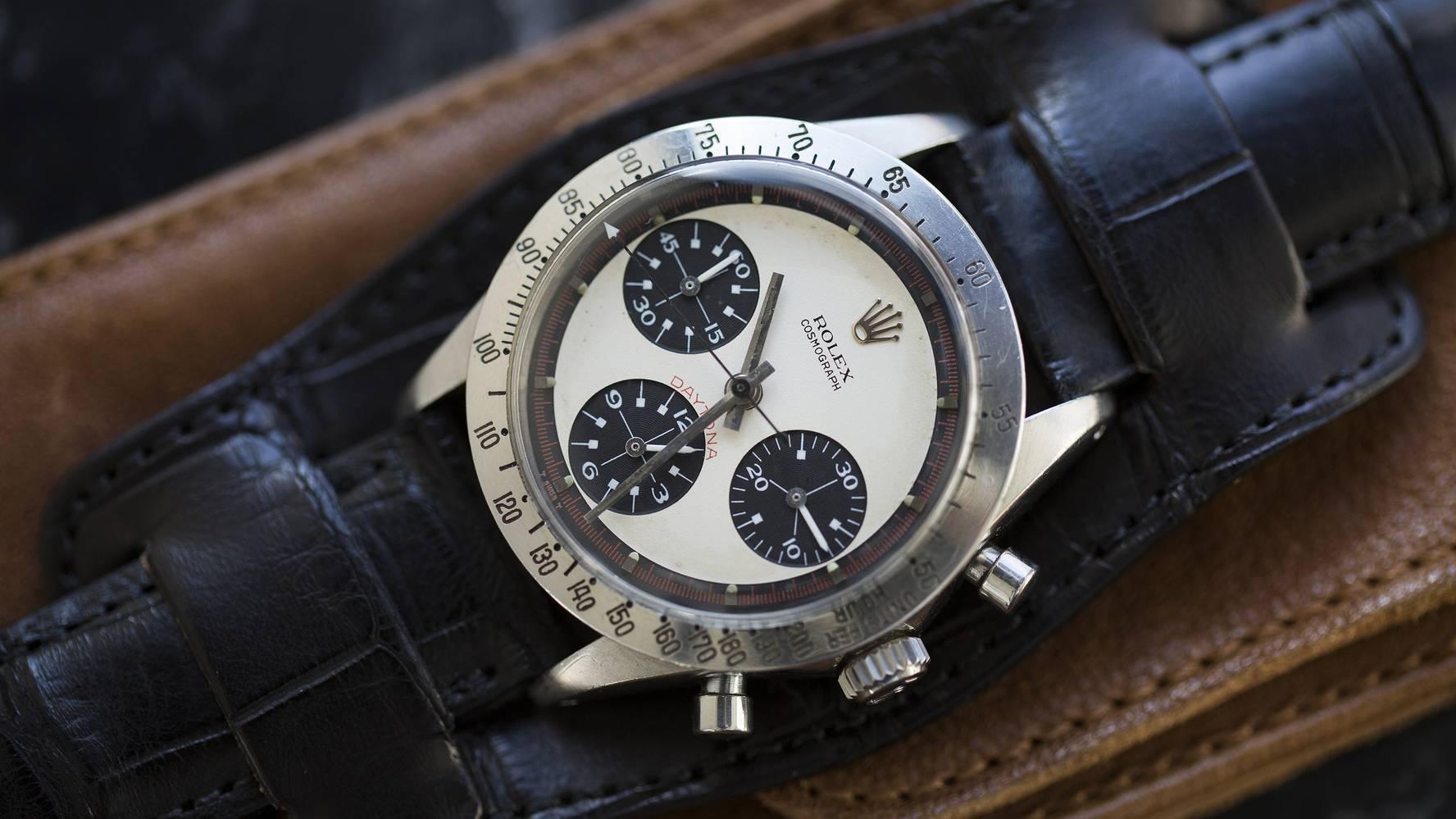 cận cảnh đồng hồ Rolex giá đắt đỏ