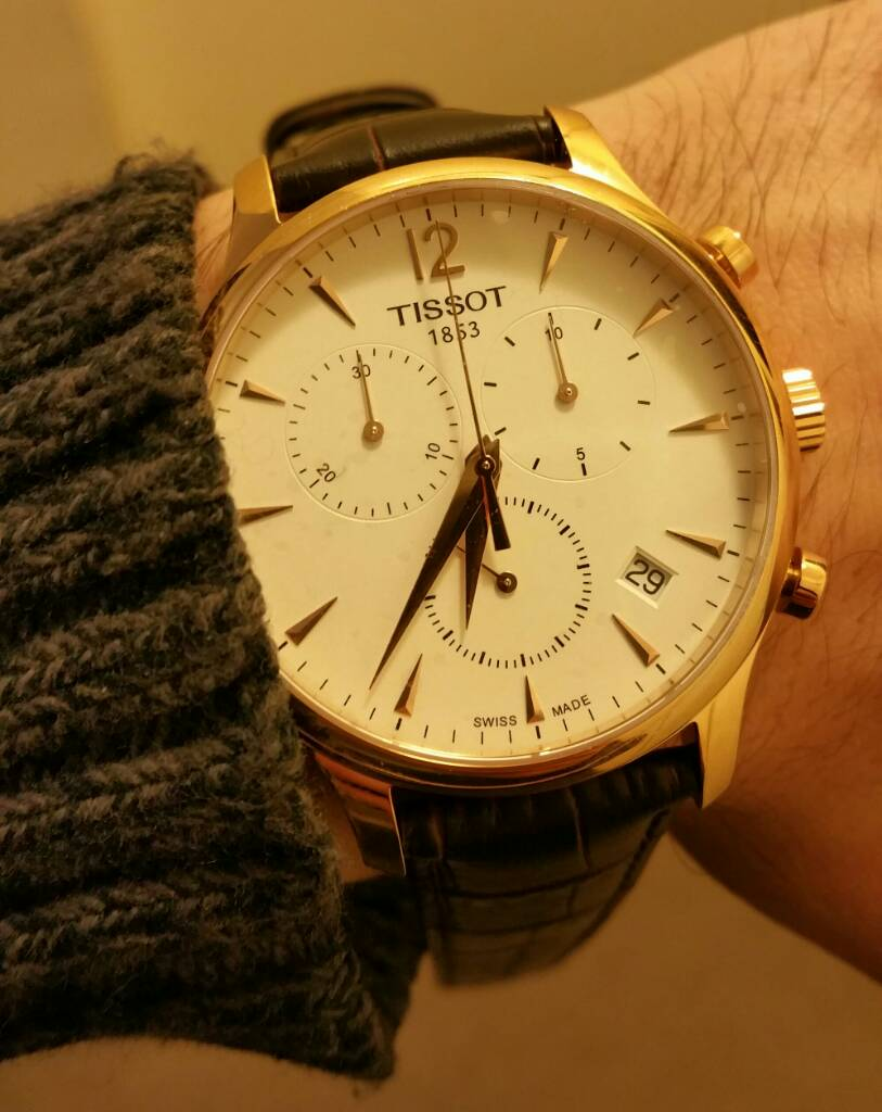 Đồng hồ Tissot Tradition Rose Gold Chronograph