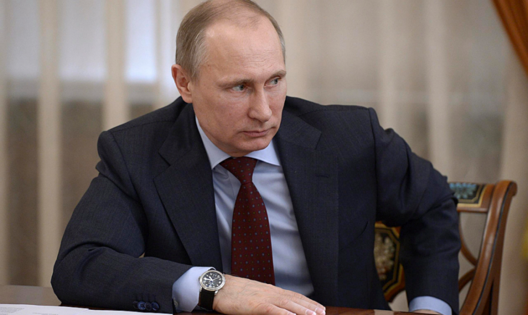 đồng hồ của tổng thống Nga