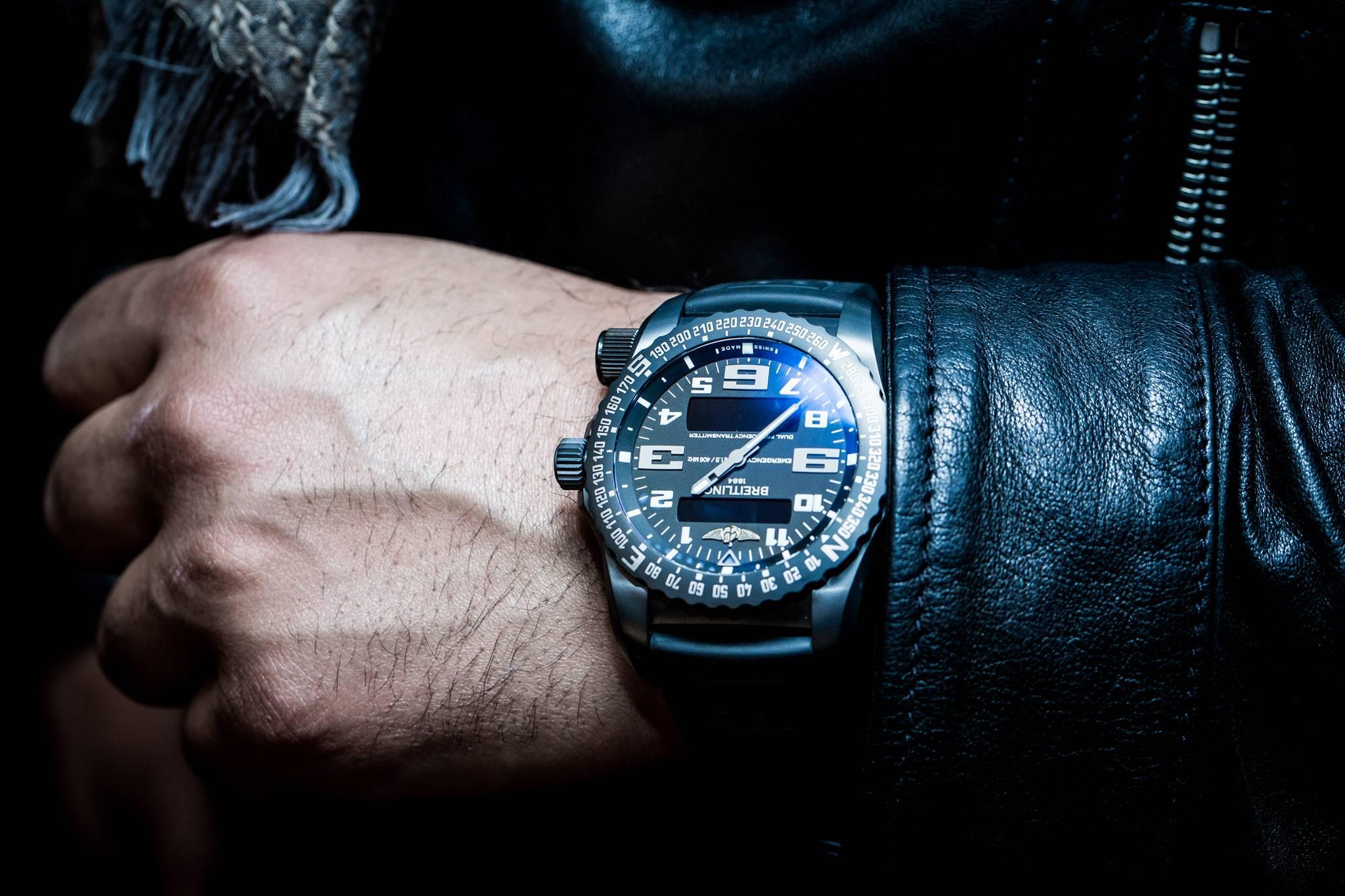 đồng hồ Breitling Emergency - 1995