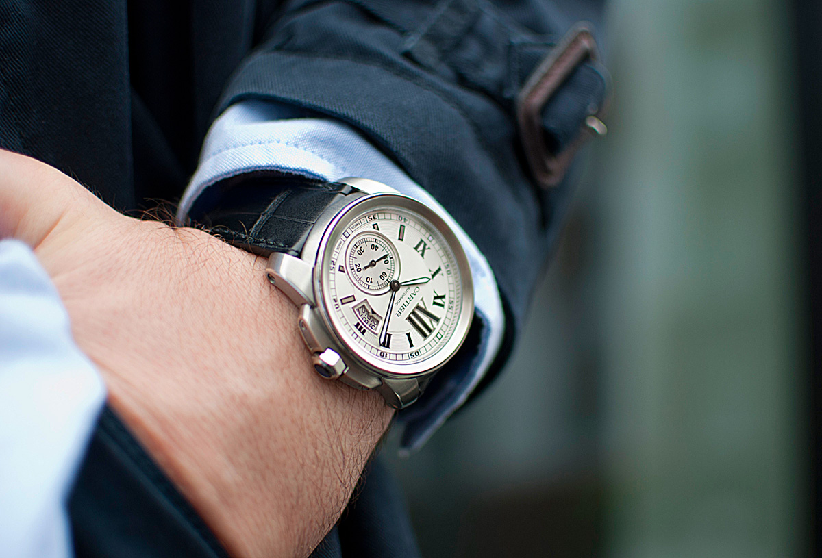 đồng hồ Calibre de Cartier
