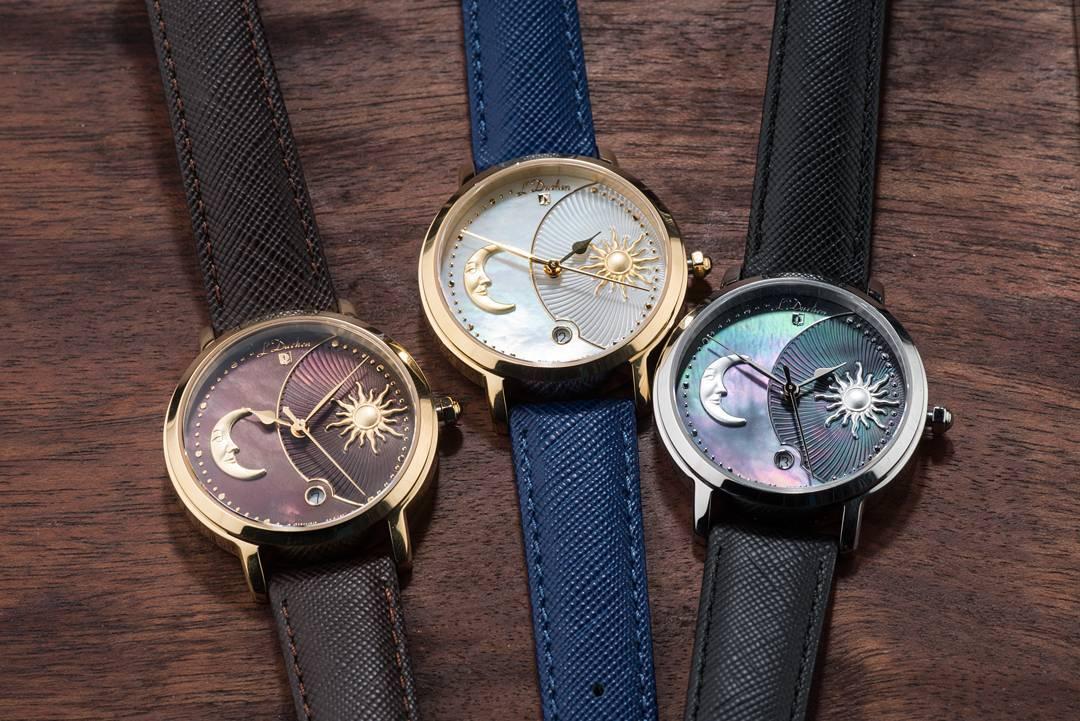các mẫu đồng hồ dây da kháo bấm