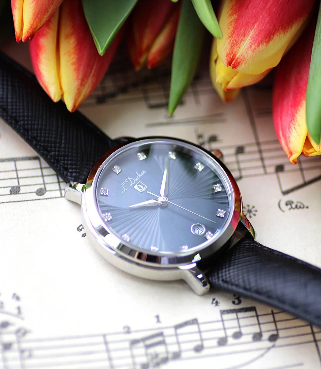 """thương hiệu đồng hồ L""""Duchen"""