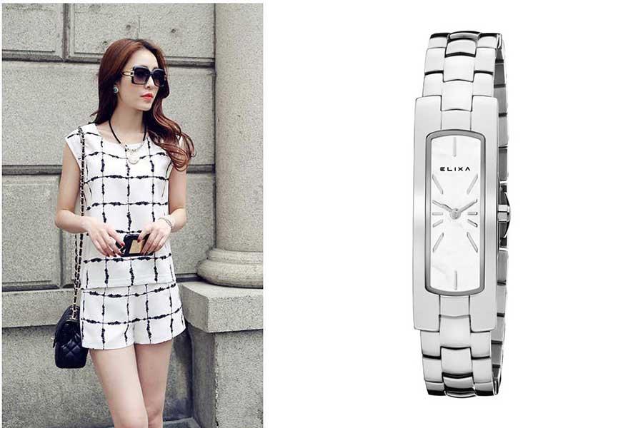 đồng hồ nữ quartz tầm trung