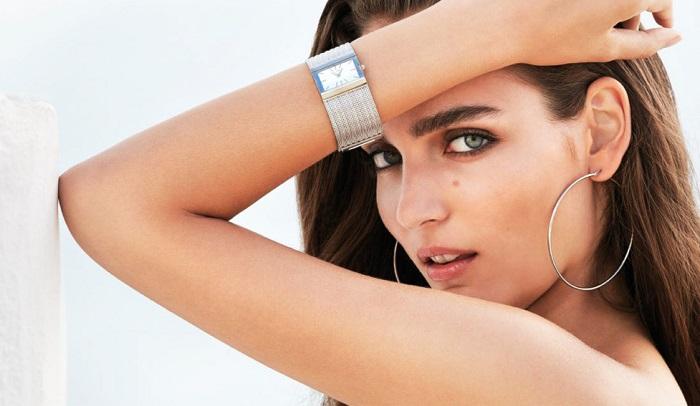 Đồng hồ đeo tay mặt vuông Elixa
