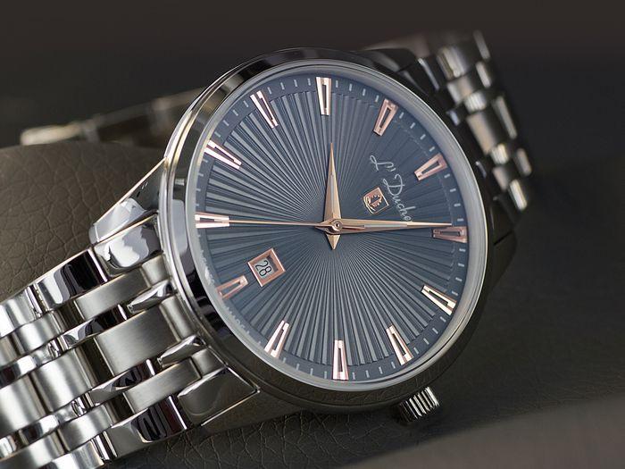 đồng hồ nam dây kim loại L'Duchen