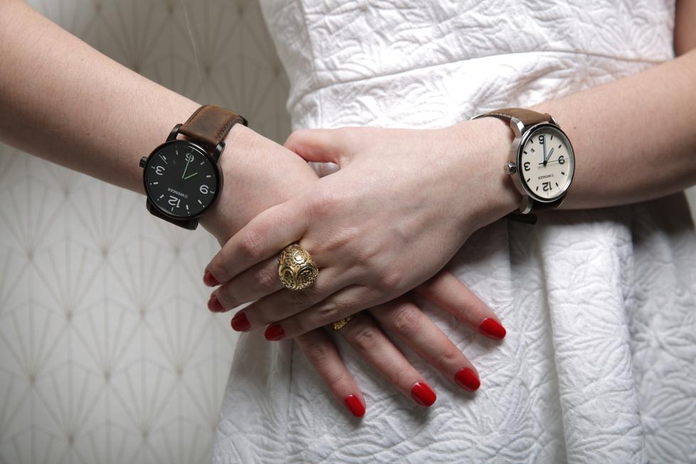 đồng hồ nữ dây da giá rẻ đẹp
