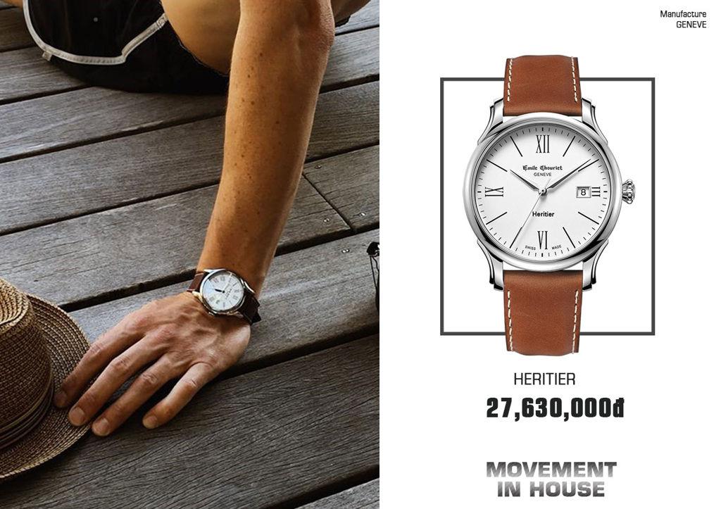 đồng hồ Emile Chouriet chính hãng