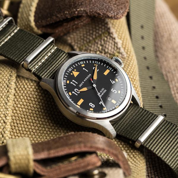 đồng hồ Jack Mason Aviator - JM-A101-007