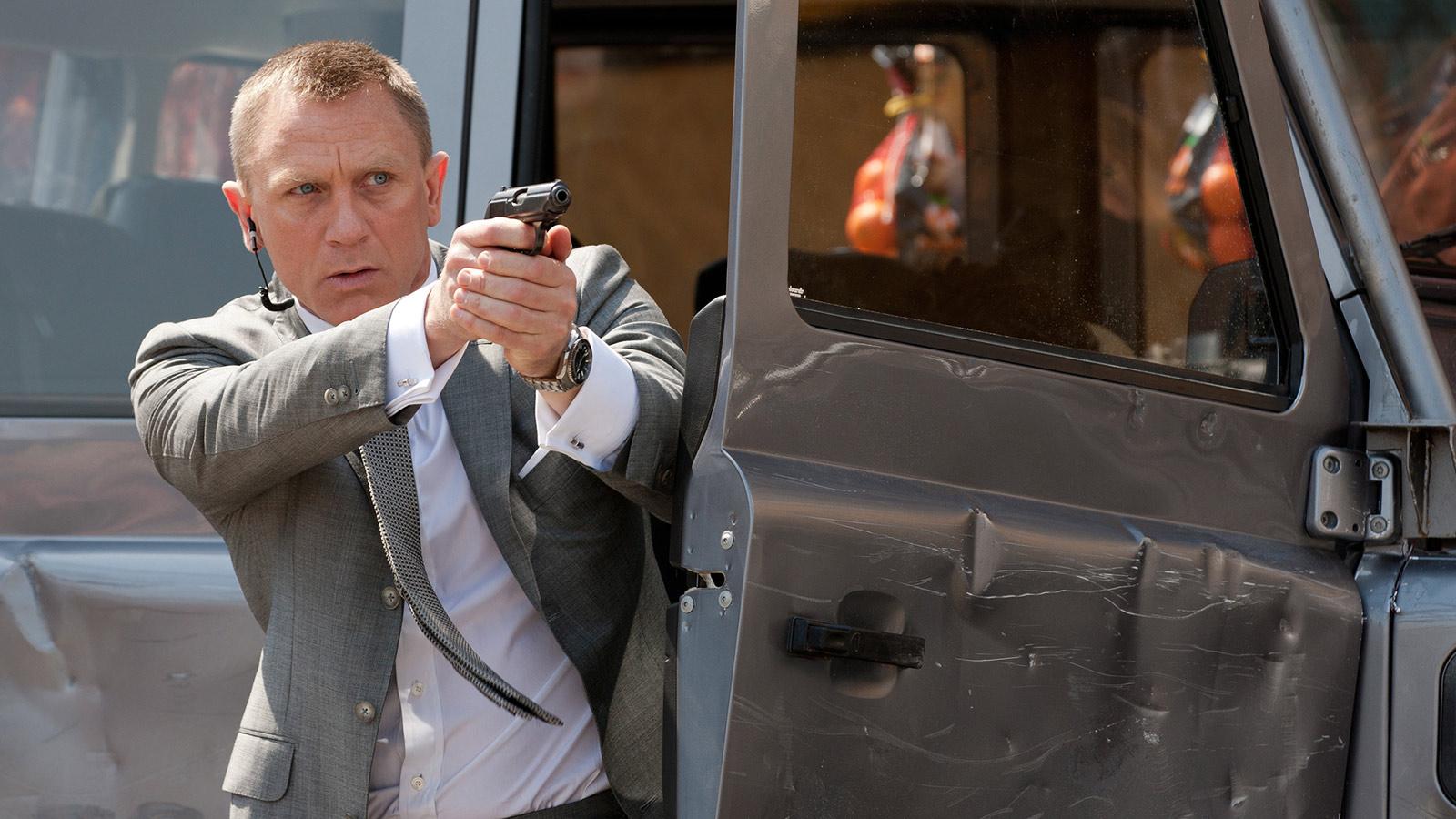 Đồng hồ Omega Seamaster của Daniel Craig